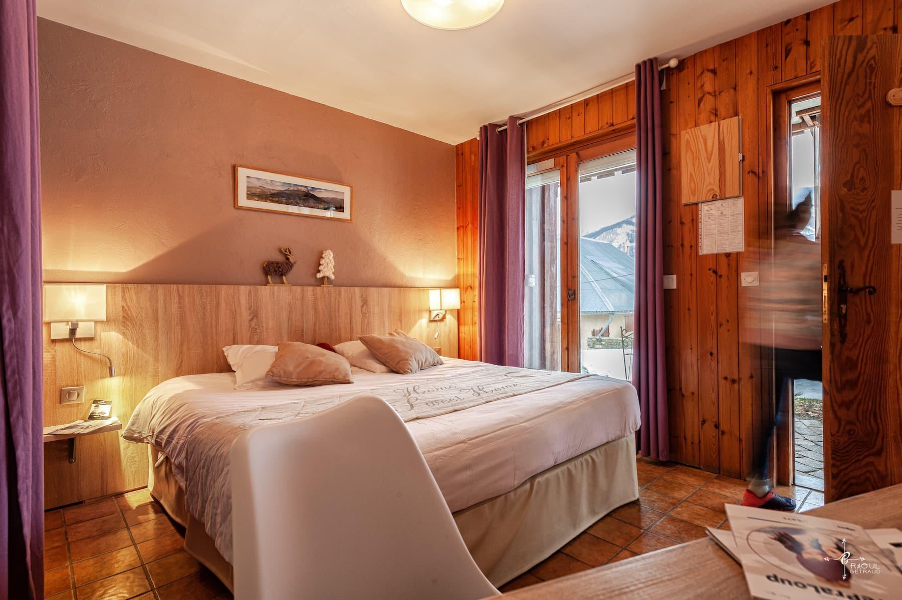 chambre hotel pra loup