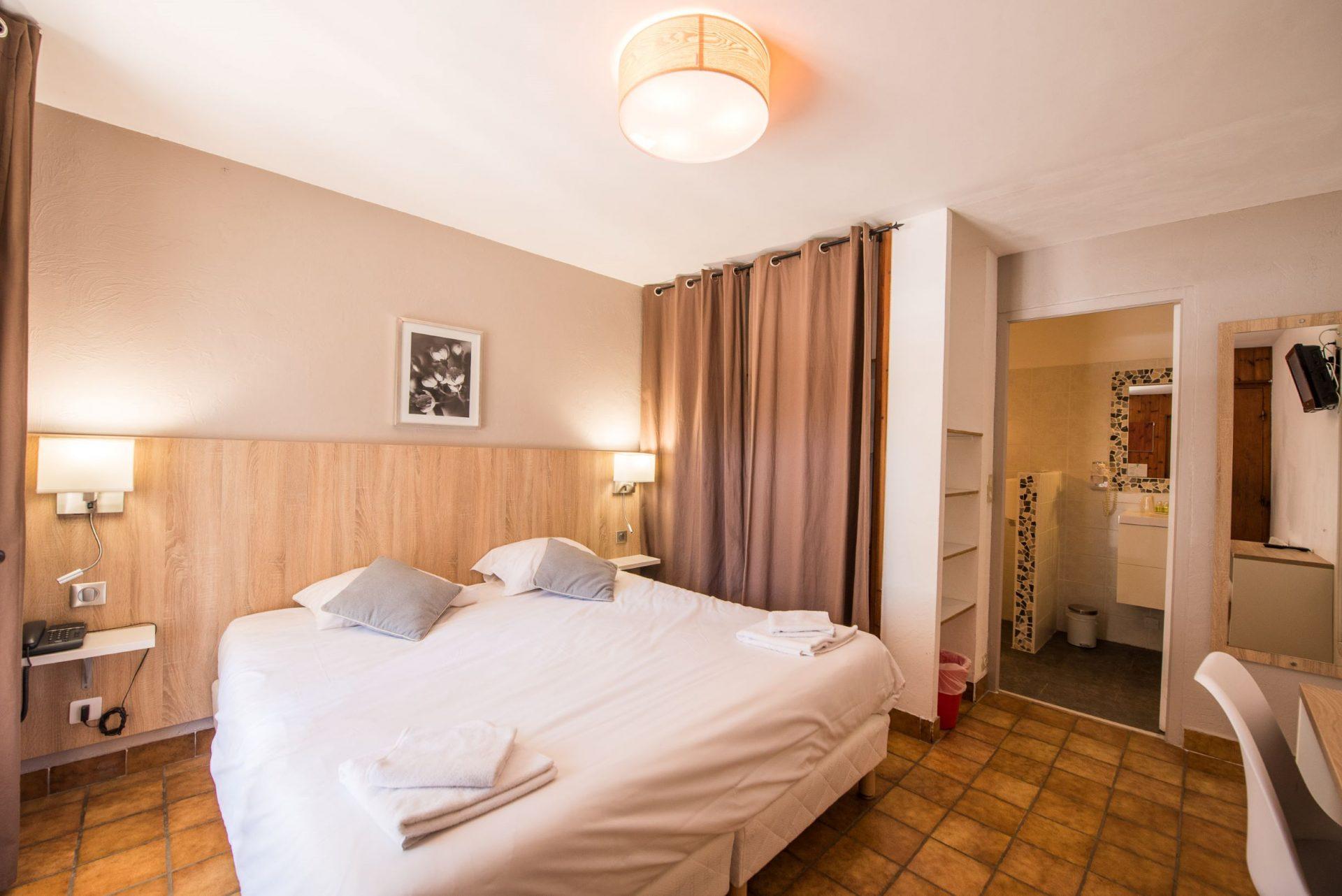 Hotel Pra Loup chambre